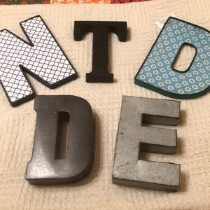 Assortment of letters